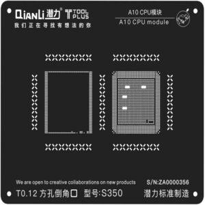 شابلون دو بعدی کیانلی QIANLI 2D A10 plus CPU مناسب پایه سازی گوشی موبایل آیفون