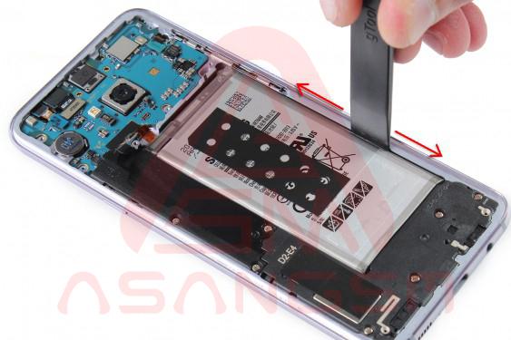 تعویض باتری S8 پلاس - مرحله 13.1