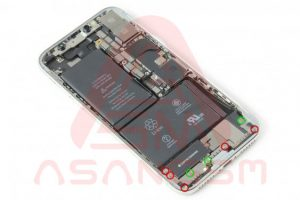 تعویض آنتن اصلی GSM آیفون X