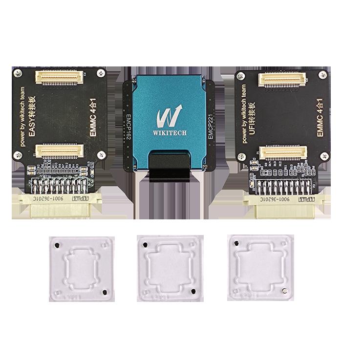 آداپتور هارد WIKITECH 4 IN 1 مناسب پروگرام هارد گوشی های اندروید