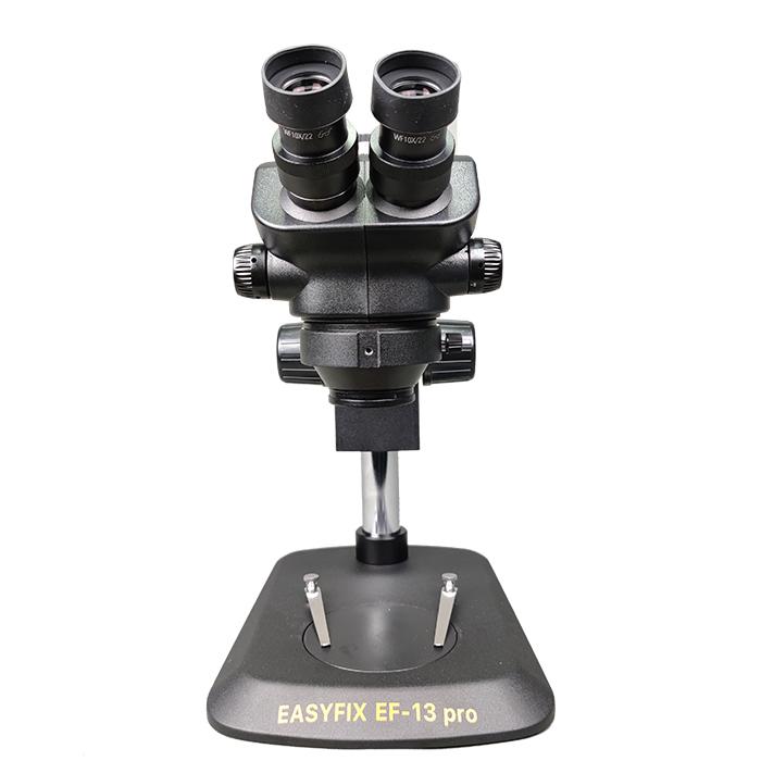 لوپ حرفه ای آنالوگ دیجیتال سه چشم EasyFix EF-13 Pro مناسب تعمیرات گوشی موبایل