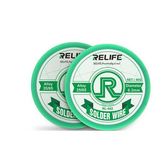 سیم لحیم 0.5 ریلایف RELIFE RL-442 مناسب تعمیرات برد گوشی موبایل