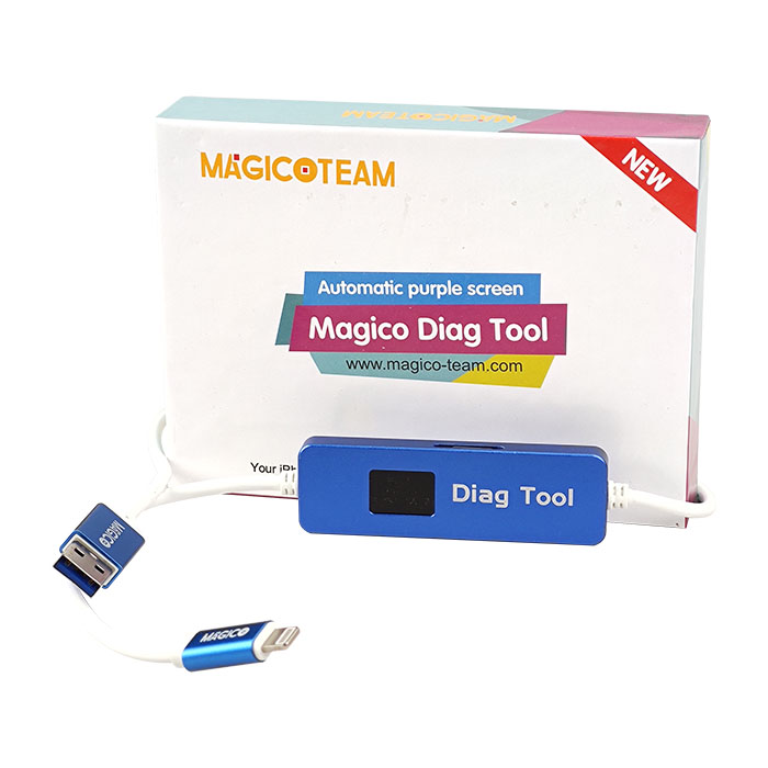 ابزار دیاگ مجیکو پلاس V3.31 به همراه آداپتور مناسب تعمیرات اپل