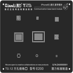 شابلون بیس باند کیانلی Qianli Base Band IPhone 6s مناسب پایه سازی گوشی موبایل