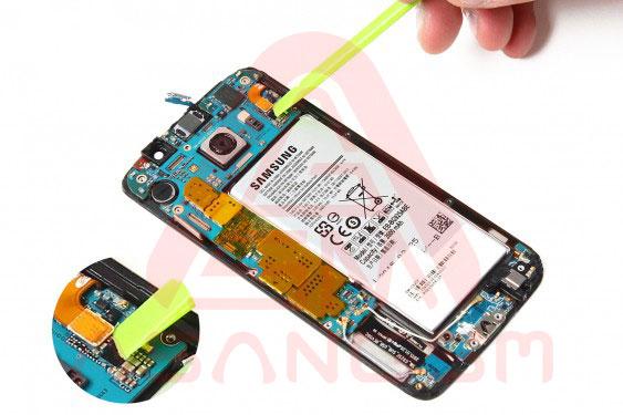 تعویض باتری S6 Edge - مرحله 10.1