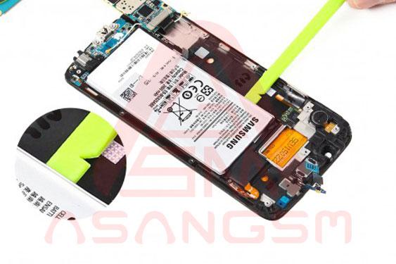 تعویض باتری S6 Edge - مرحله 12