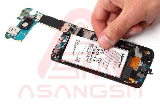 تعویض باتری S6 Edge - مرحله 13