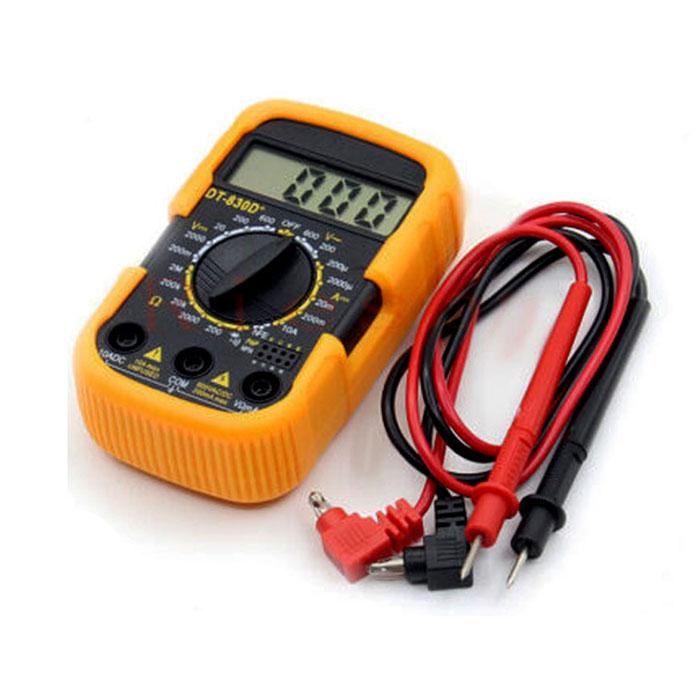 مولتی متر دیجیتال DT-830D plus جهت استفاده در تعمیرات موبایل