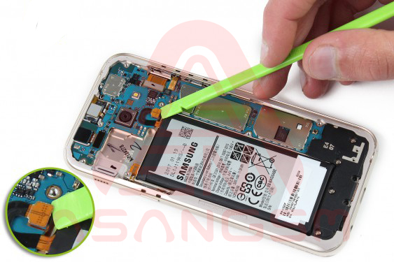 تعویض آنتن GSM گلکسی A5 - مرحله 10