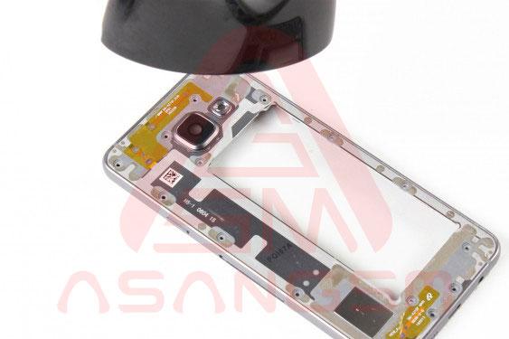 تعویض شیشه دوربین پشت A3 - مرحله 11