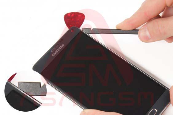 تعویض سوکت سیم کارت گلکسی نوت 4 -مرحله 11.1