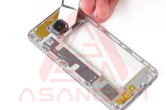 تعویض شیشه دوربین پشت A3 - مرحله 12
