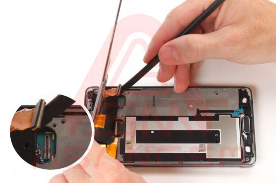 تعویض صفحه نمایش گلکسی نوت 4 -مرحله 12.2