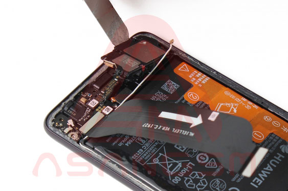 آموزش تعویض سیم آنتن Wifi هواوی P30 مرحله 1-15