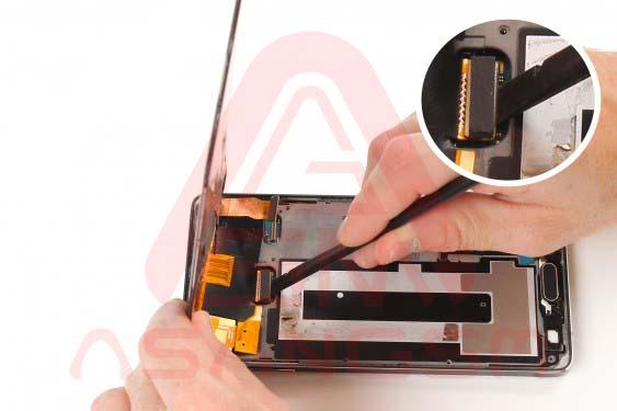تعویض دوربین پشت گلکسی نوت 4 - مرحله 15.1