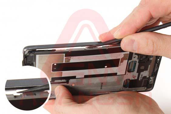تعویض دوربین پشت گلکسی نوت 4 - مرحله 16.2