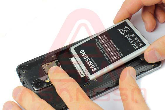 تعویض دوربین پشت گلکسی نوت 3 -مرحله 3.2