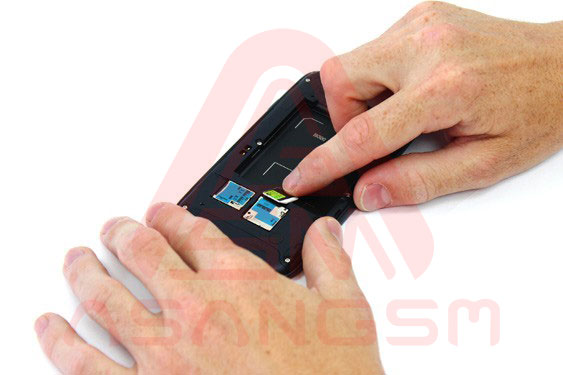 تعویض سوکت سیم کارت S3- مرحله 4.1