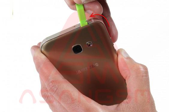 تعویض آنتن GSM گلکسی A5 - مرحله 4.1