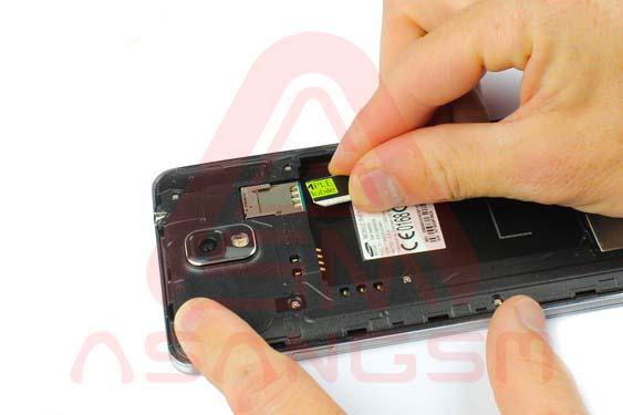 تعویض دوربین پشت گلکسی نوت 3 -مرحله 4.2