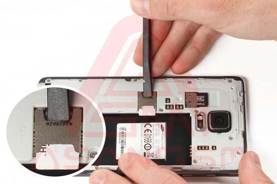 تعویض دوربین پشت گلکسی نوت 4 - مرحله 5