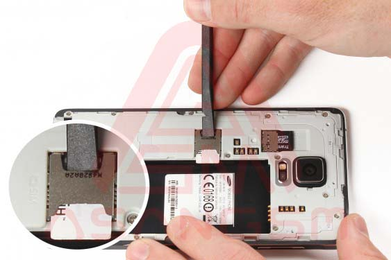 تعویض صفحه نمایش گلکسی نوت 4 -مرحله 5