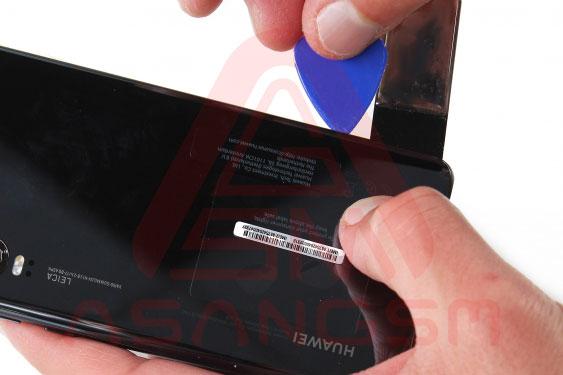 آموزش تعویض سیم آنتن wifi هواوی P30 مرحله 2-5
