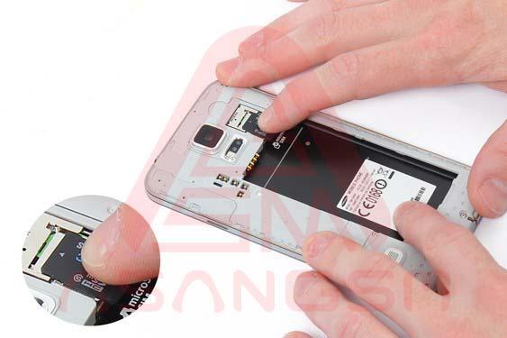 تعویض صفحه نمایش S5 -مرحله 6