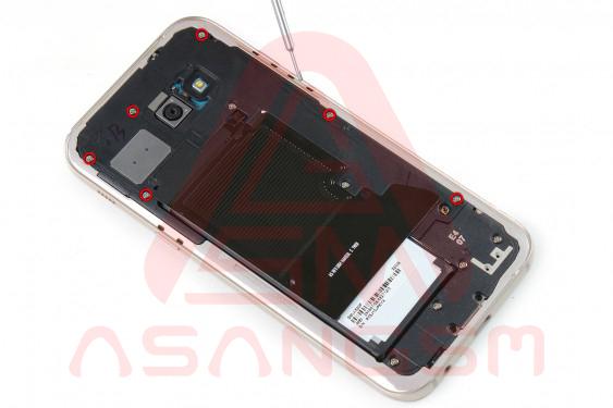 تعویض آنتن GSM گلکسی A5 - مرحله 7