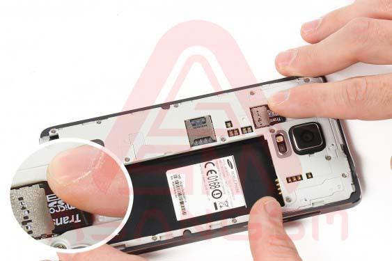 تعویض دوربین پشت گلکسی نوت 4 - مرحله 7.1
