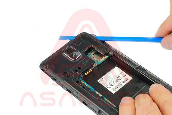 تعویض دوربین پشت گلکسی نوت 3 -مرحله 7.1