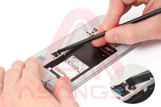 تعویض صفحه نمایش S5 -مرحله 8