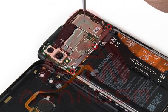 تعویض باتری هواوی Huawei P Smart 2019 مرحله8