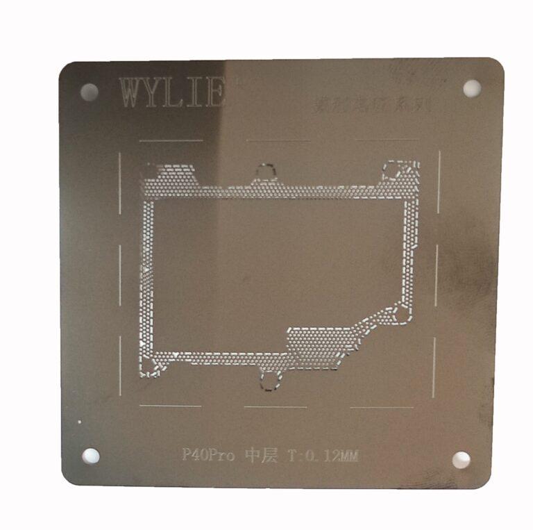 شابلون مشکی WYLIE P40 PRO مناسب پایه سازی آی سی های برد گوشی موبایل