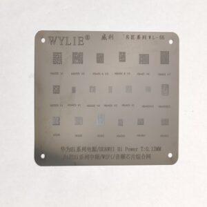 شابلون مشکی WL-66