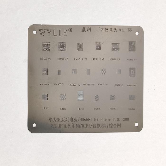 شابلون مشکی WYLIE WL-66 مناسب پایه سازی آی سی گوشی موبایل
