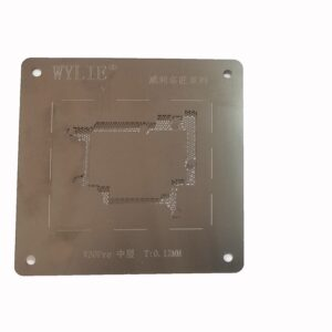 شابلون مشکی WYLIE V30 PRO مناسب پایه سازی آی سی های برد گوشی موبایل