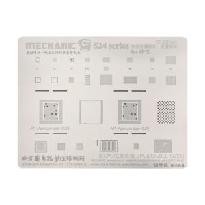 شابلون Mechanic S24 iPhone X