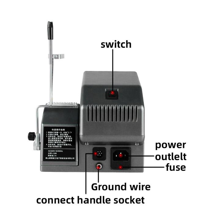 هویه دیجیتال بدون سرب SUGON T36 مناسب تعمیرات گوشی موبایل