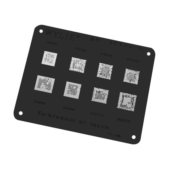 شابلون مشکی WYLIE WL-64 مناسب پایه سازی آی سی گوشی موبایل