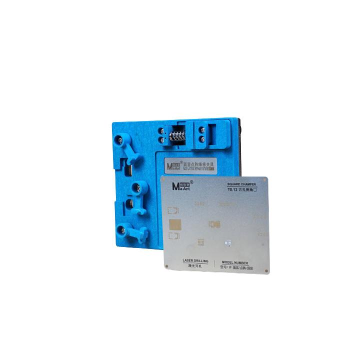 شابلون و فیکسچر فیس آیدی MA Ant MR-01 مناسب جهت استفاده در تعمیرات موبایل