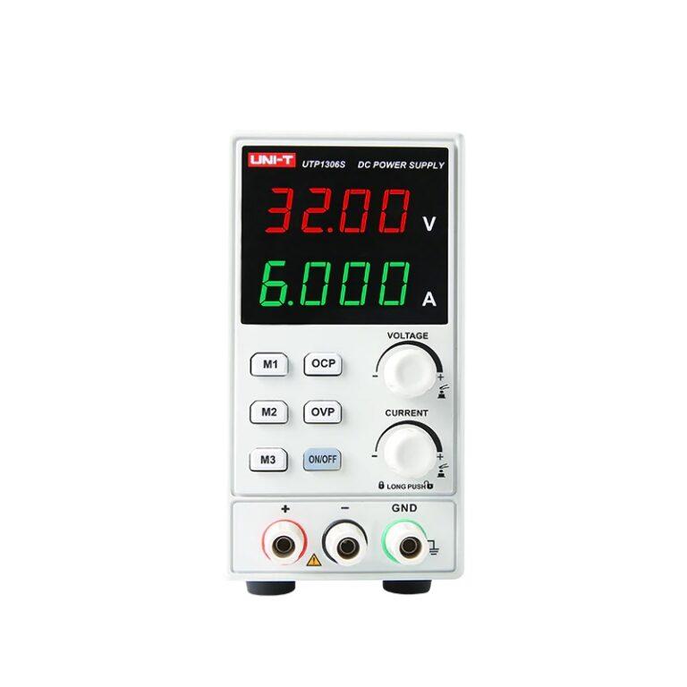 منبع تغذیه DC یونیتی UNI-T UTP1306S مناسب تعمیرات گوشی موبایل