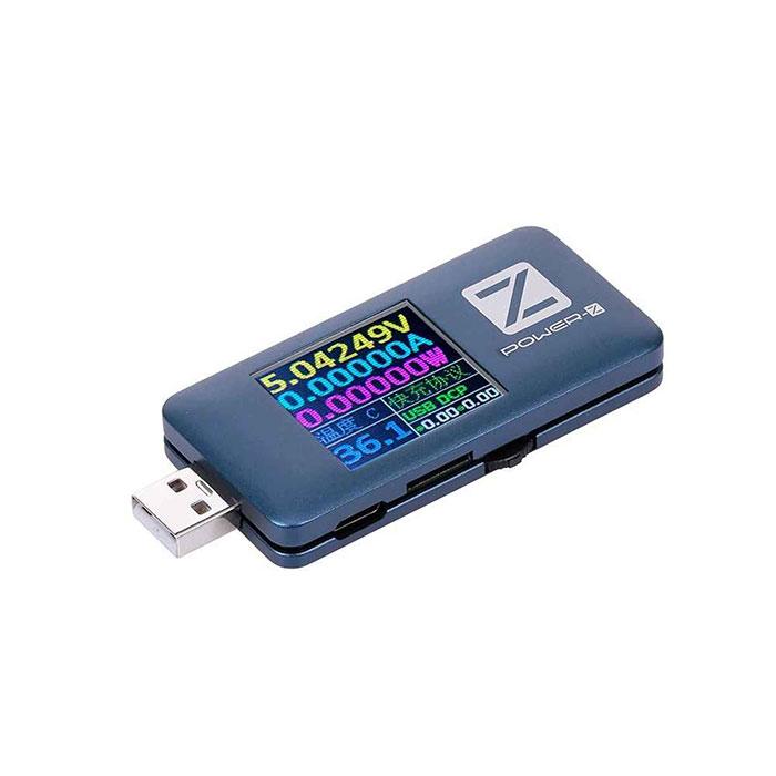 تستر یو اس بی POWER-Z دارای 5 پورت مناسب تست انواع شارژر