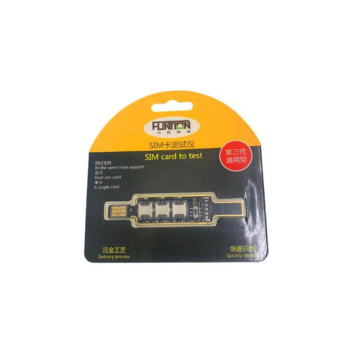 تستر سیم کارت 3 در 1 مناسب برای انواع گوشی های موبایل و تبلت