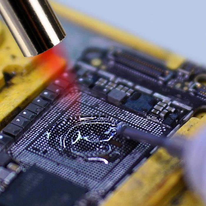 خمیر و روغن فلکس سرنگی MECHANIC SD360 مناسب تعمیرات مادربرد
