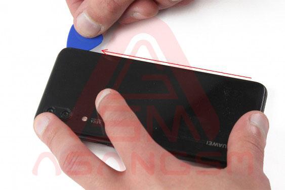 تعویض آنتن NFC هواوی P20-مرحله سوم