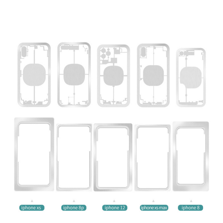 قالب محافظ لیزر M-TRIANGEL مناسب گوشی های آیفون 8 تا 12 پرومکس