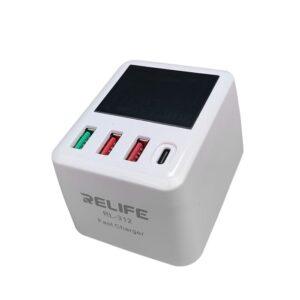مولتی شارژر هوشمند RELIFE RL-312