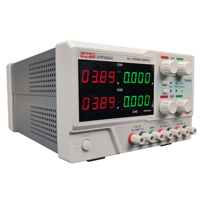 منبع تغذیه سه کاناله یونیتی UTP3305-2 مناسب تعمیرات موبایل